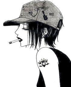 I remember this anime XD - Nana Osaki…I remember this anime XD - Manga Nana, Manga Love, Manga Girl, Anime Love, Anime Girls, Gato Anime, Anime Manga, Anime Art, Yazawa Ai