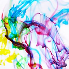 Creativity Unmasked: Fun With Photography: Abstract Art Using Ink Drops in Water