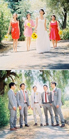 Wedding Party Photos  - PHOTO SOURCE • BWRIGHT PHOTOGRAPHY   Featured on WedLoft