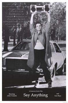 To know Lloyd Dobler is to love him. Diane Court is about to know Lloyd Dobler.