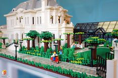 Lego Castle, Lego House, Photo L, Lego Building, Lego Creations, Lego City, Legos, Villa, Lego Stuff