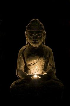 "Buddha - ""Thousands of candles can be lit from a single candle, and the life of the candle will not be shortened. Happiness never decreases by being shared."""