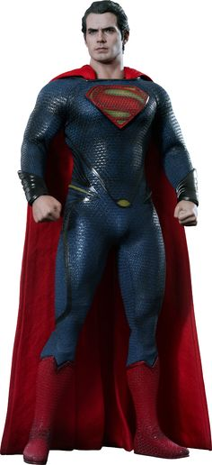 Hot Toys Man of Steel: Superman Sixth Scale Figure (Henry Cavill)