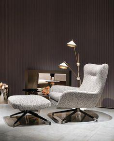 JENSEN ARMCHAIR Designed by Rodolfo Dordoni