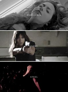 My skin has turned to porcelain, to ivory, to s t e e l. #marvel