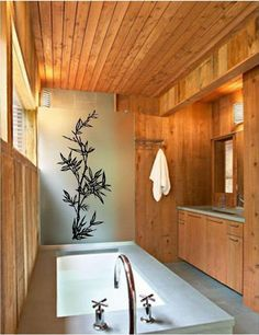 Bamboo Wall Decals | Bamboo vinyl wall art decal