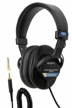 Amazon.com: Sony MDR7506 Professional Large Diaphragm Headphone: Musical Instruments