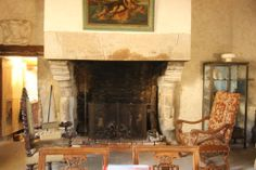 Manor Rennes in Brittany (you can really see the blocks of the fireplace)