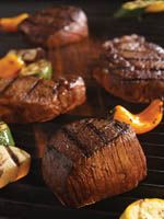 Grilled Certified Angus Beef Filet with Cumin & Coriander Paste Steak Dinner Recipes, Beef Recipes, Beef Filet, Juicy Steak, Angus Beef, Coriander, Grilling, Food And Drink, Sweet