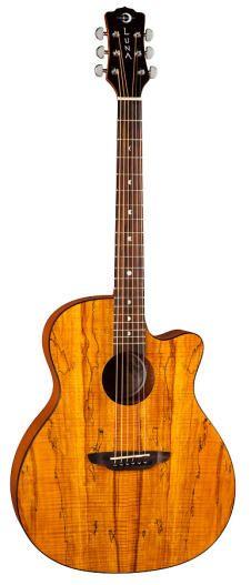 Guitars & Basses Able New Luna Vista Eagle Tropical Woods Acoustic Electric Guitar W/ Ohsc