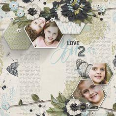 ScrapSimple Embellishment Templates: Cast Shadow Frames 2 Digital Scrapbooking Kit by Brandy Murry | ScrapGirls.com