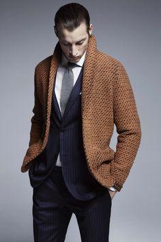 "turnoverchange: ""Amazing outerwear by Lardini Uomo. """