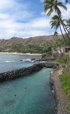 Only been here once.  Good memories:-) Black Point near Diamond Head on Oahu, Hawaii.