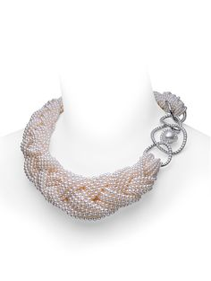 Braided Choker; a one of a kind necklace by Mikimoto.