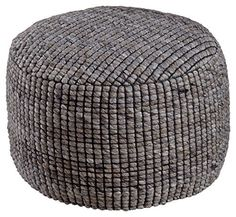 Teeming with texture and so very soft, this pouf is destined to become your favorite footrest. Thanks to the dense bead filling that helps it keep its shape, the pouf also makes for a stylish spare seat. Merry Christmas!!! Christmas Joy is also availableShopExpress-Single Store SoftExpress... more details available at https://furniture.bestselleroutlets.com/accent-furniture/poufs/product-review-for-signature-design-by-ashley-a1000382-achiles-pouf-natural/