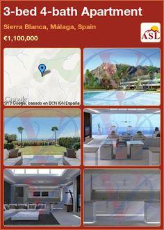 3-bed 4-bath Apartment in Sierra Blanca, Málaga, Spain ►€1,100,000 #PropertyForSaleInSpain