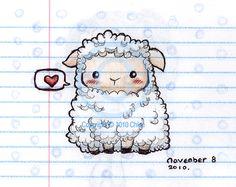 Sheep Sketch by Tsukarii.deviantart.com on @deviantART
