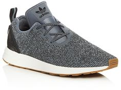 adidas ZX Flux Adv Asymmetric Lace Up Sneakers
