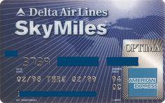 Delta American Express OPTIMA (American Express, USA) Col:US-AE-0024
