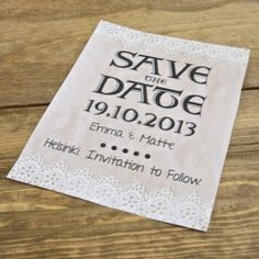Design your own Save the Dates!