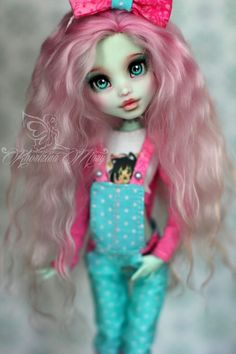 monster high ooak | Mariya Khorizina