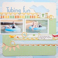 Tubing Fun - Scrapbook.com