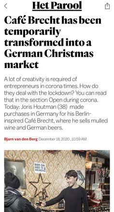 German Christmas Markets, Germany, Marketing, Reading, Ideas, Corona, Deutsch, Reading Books, German Christmas