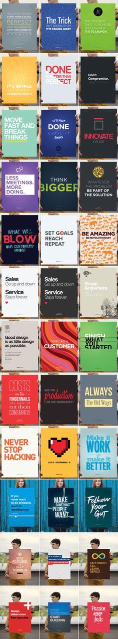 StartupVitamins - Motivational Posters