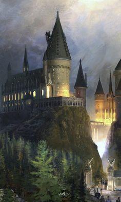 fantasy, гарри поттер, хогвартс, hogwarts, harry potter, Фантастика
