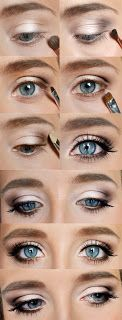 Wedding Make up - from Barbie Mutation blog A soft and feminine look that is beautiful  Uses:  Urban Decay Naked Palette NYX the Runway Collection pencil by Pupa mascara by Maybelline (Falsies)