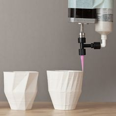Stratigraphic Manufactury by Unfold. teacups