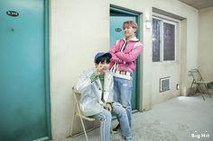 Suga and J-Hope ❤ BTS On Set Of The '봄날 (Spring Day)' MV (Naver STARCAST Article - m.star.naver.com/bts) #BTS #방탄소년단