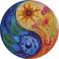 line drawings of yin yang | Mágico y Celestial☆