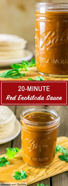 You can whip up this 20 minute red enchilada sauce in no time. Plus, this easy red enchilada sauce is much tastier than anything you'd buy in a can. This homemade enchilada sauce is always a crowd favorite and perfect for so many Tex Mex recipes. Recipes With Enchilada Sauce, Homemade Enchilada Sauce, Homemade Enchiladas, Red Enchilada Sauce, Homemade Sauce, Sauce Recipes, Drink Recipes, Dinner Recipes, Spicy Dishes
