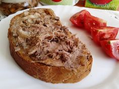 Kačacie rillettes z pomalého hrnca (fotorecept) - Recept Baked Potato, Potatoes, Baking, Ethnic Recipes, Potato, Bakken, Backen, Baked Potatoes, Oven Potatoes