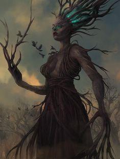 -- Share via Artstation iOS App, Artstation © 2018 Forest Creatures, Magical Creatures, Fantasy Creatures, Fantasy Forest, High Fantasy, Fantasy Art, The Elder Scrolls, Character Portraits, Character Art