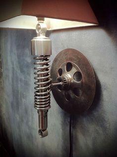 car parts wall lamp