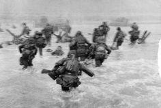 Desembarco de Normandía, de Robert Capa.