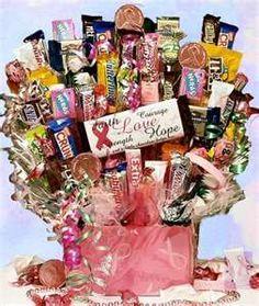 Candy bar basket - LOVE IT!