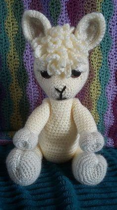 Amigurumi Alpaca - Theo no.3