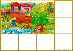 The Seasons Activities Seasons Activities, Preschool Activities, Math For Kids, Malm, Fun Crafts, Coloring Pages, Kindergarten, Homeschool, Photo Wall