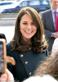 The Duke and Duchess of Cambridge were greeted by hundreds of royal fans as they arrived in Sunderland on Wednesday. The couple is visiting to see the city's vibrant arts scene and engineering talent