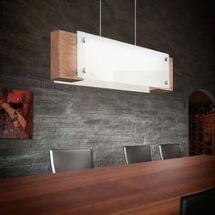 Φωτιστικό κρεμαστό ράγα LED VILAR γυάλινο με ξύλο Decor, Table, Bathtub, Lamp, Furniture, Lighting, Conference Room Table, Home Decor, Room