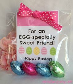 Cutie carrots these are such a wonderful candy free alternative michelle paige easter favors for teachers friends and family negle Choice Image