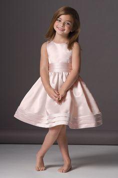 Seahorse 46248 Flower Girl Dress in Blush