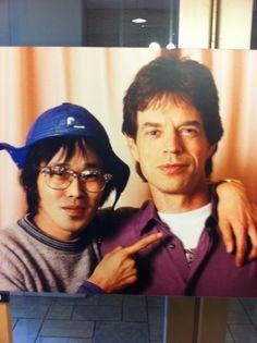 ミックジャガーと清志郎