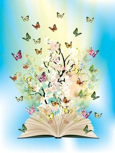 Open book with butterflies flying from it stock vector – Best Books Butterfly Wallpaper, Butterfly Art, Open Book Drawing, Drawing Sketches, Art Drawings, Photo Bleu, Butterfly Pictures, Butterflies Flying, Cute Wallpapers