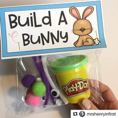 Easter Gifts For Kids, Easter Crafts, Easter Class Treats, Easter Ideas, Bunny Crafts, Easter Decor, Bunny Party, Easter Party, Easter Table