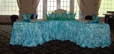 Beach Themed Under The Sea Sweet 16 Candelabra and Dais Decor