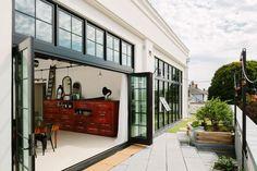 Terrace of Portland warehouse loft | Remodelista